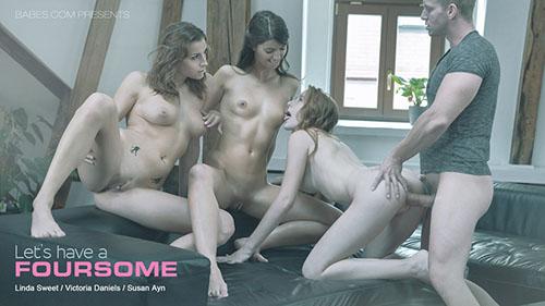 Victoria Daniels, Linda Sweet & Susan Ayn